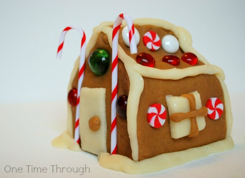 Gingerbread House Playdough