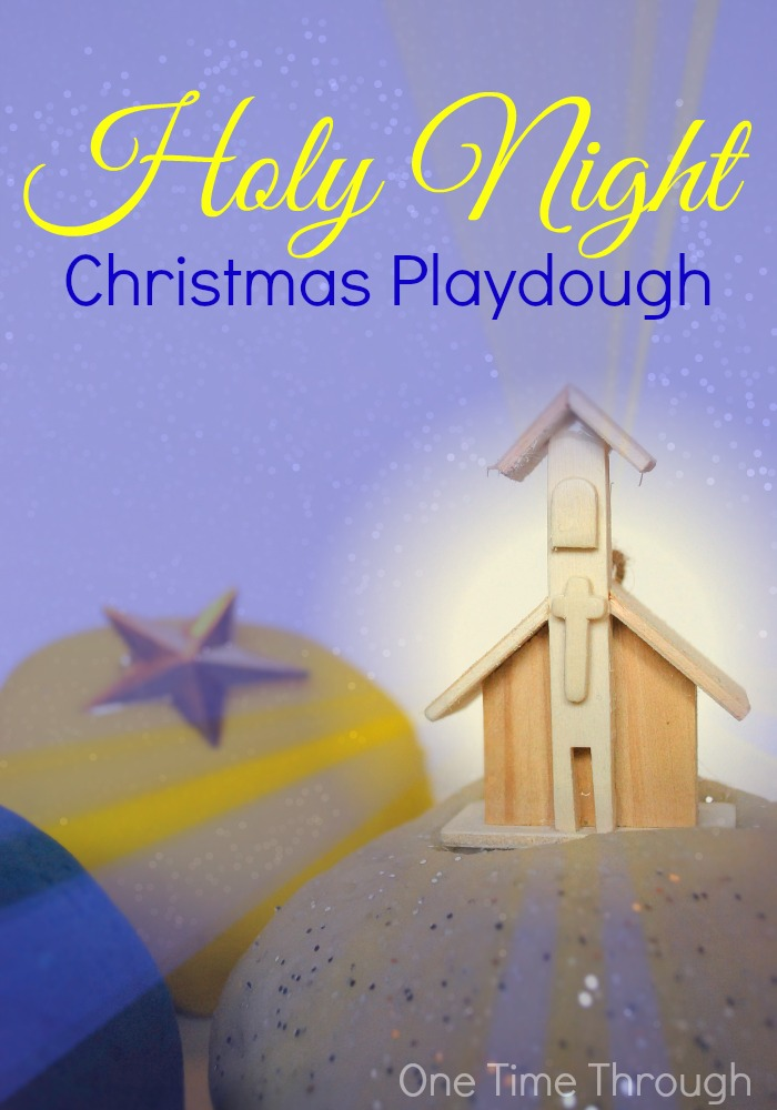 Holy Night Christmas Playdough