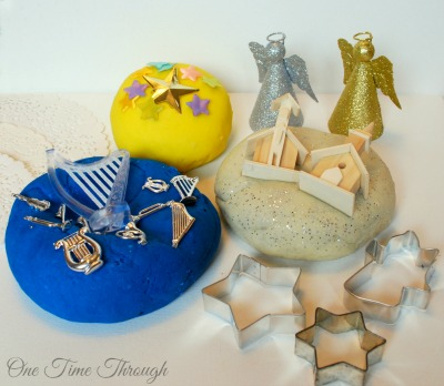 Holy Night Playdough Presentation