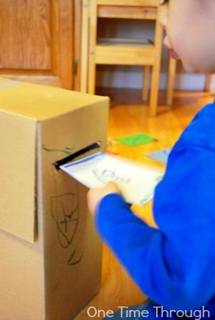 Jolly Postman Mailbox