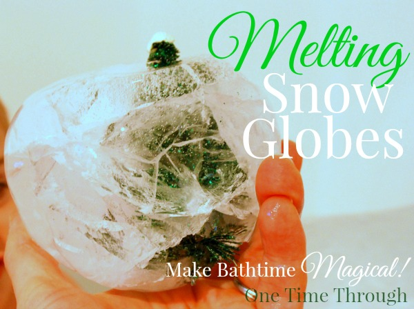 Melting Bathtime Snow Globes