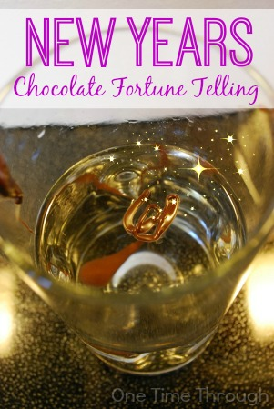 New Years Chocolate Fortunes