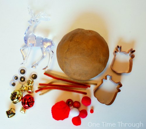 Rudolph Playdough