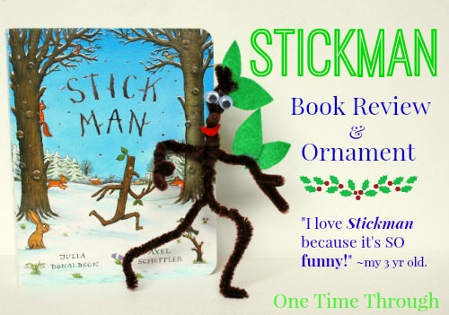 Stickman Ornament