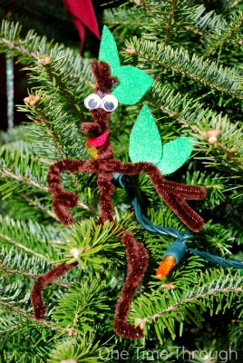 Stickman in the Christmas Tree
