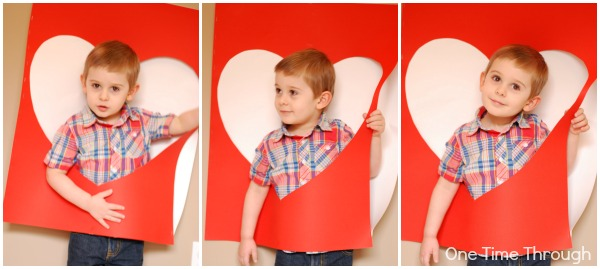 Giant Valentine Photo Shoot