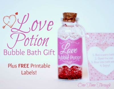 Love Potion Bubble Bath
