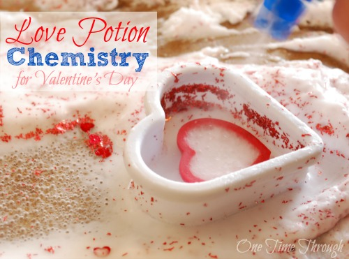 Love Potion Chemistry for Valentine's Day