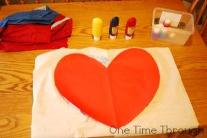 Makine a Heart Printed Valentine