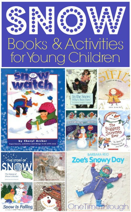 Snow Books and Activities for Young Children