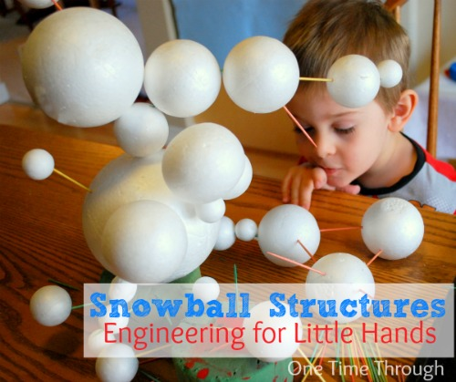 Snowball Structures - Engineering for Little Hands