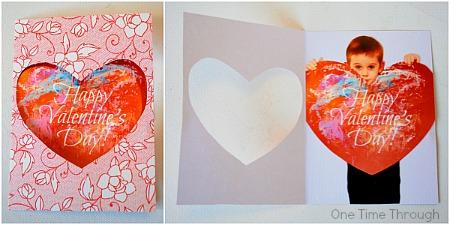Surprise Valentines Photo Card