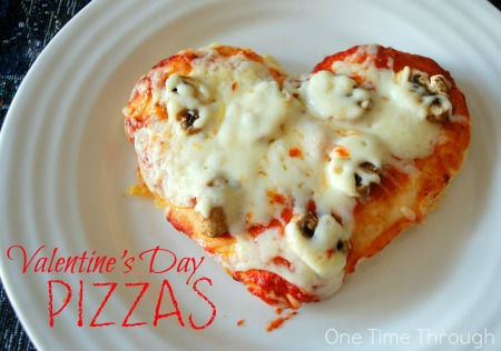 Valentine's Day Pizzas