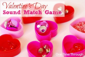 Valentine's Day Sound Match Game