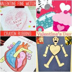 Valentines Fine Motor