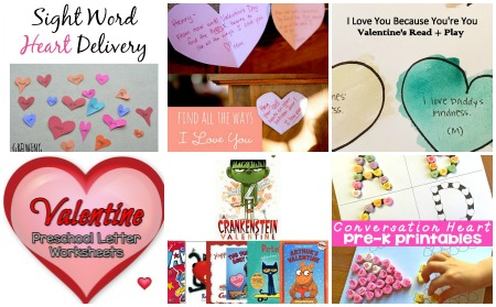 Valentines Language Activities