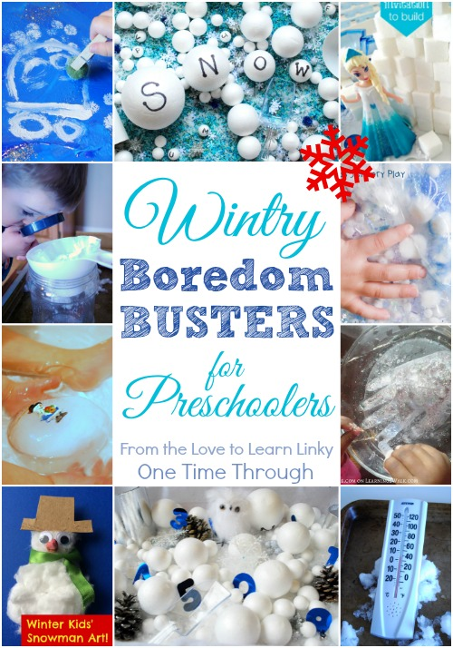 Wintry Boredom Busters for Preschoolers