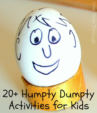 20+ Humpty Dumpty Inspired Activities