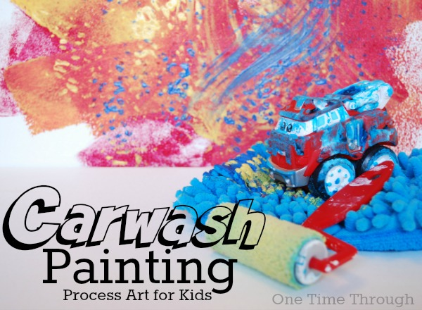 Car wash Painting Process Art - One Time Through Blog