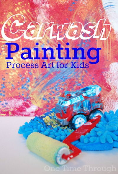Car wash Painting Process Art