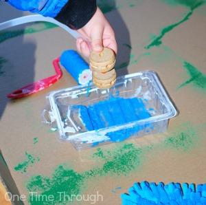 Carwash Painting Water Hose