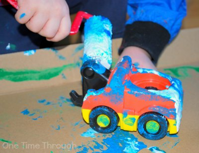 Car wash Painting