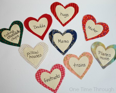 Different Love Words