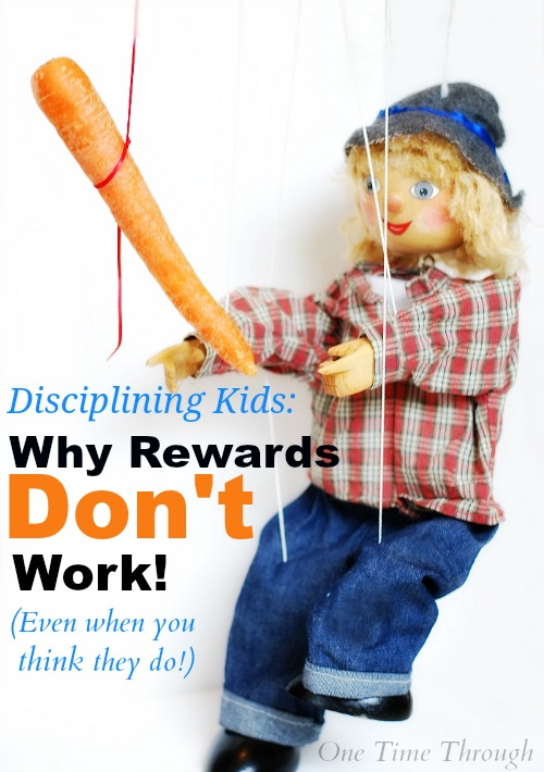 Disciplining Kids - Why Rewards Don't Work
