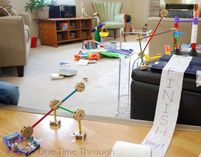 Entire Rube Goldberg Machine