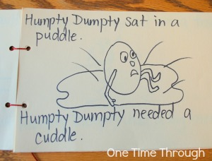 Humpty Dumpty Rhyming Book