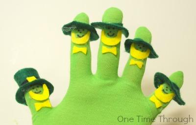 Leprechaun Puppet Hats