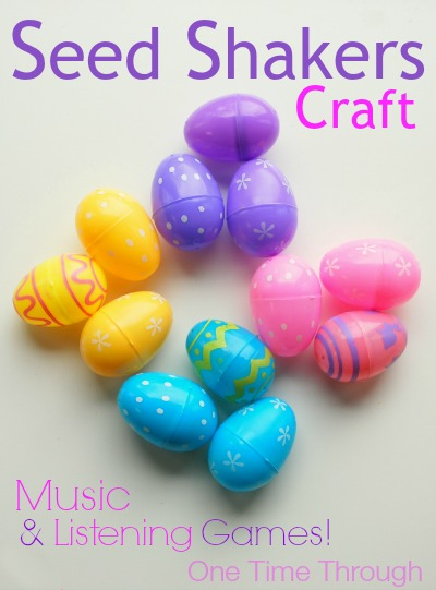 Plastic Egg Shaker Music Eggs