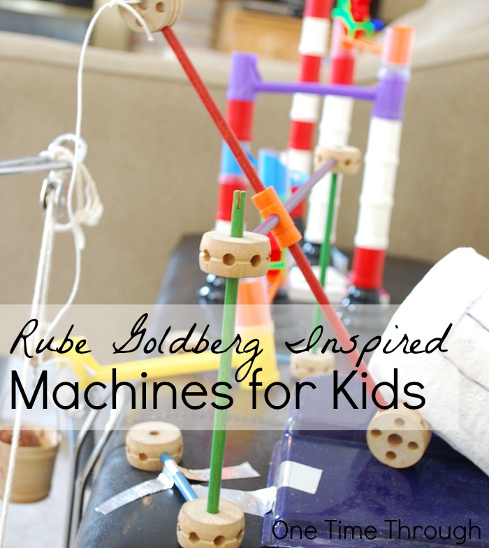 Rube Goldberg Machines for Kids