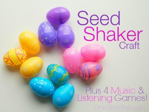 Seed Shaker Craft