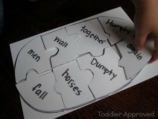 Toddler Approved Humpty Puzzle