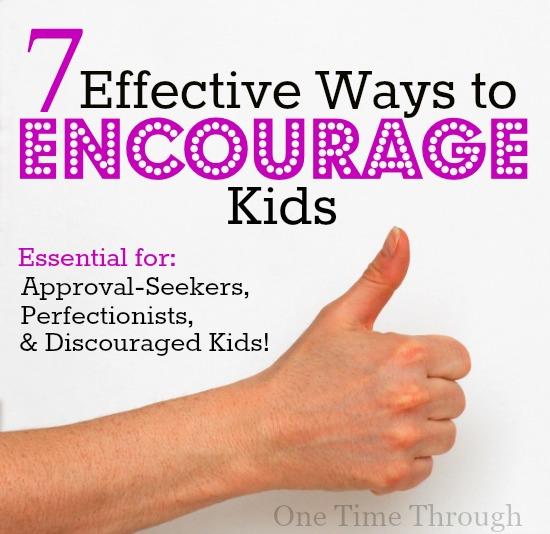 7 Effective Ways to Encourage Kids