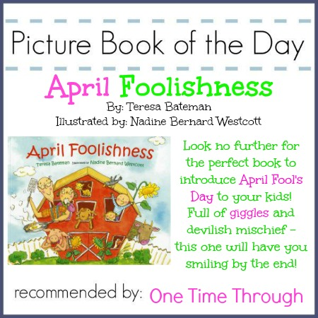 April Foolishness Book Recommendation