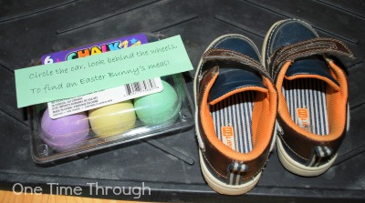 Easter Clue Hunt by Shoes