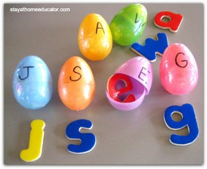 Plastic Easter Eggs Language