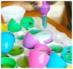 Fizzy Plastic Easter Eggs