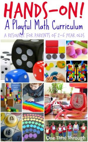 Playful Hands-On Math Curriculum