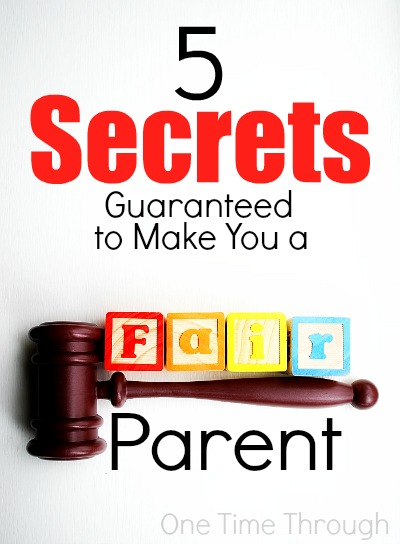 5 Secrets Guaranteed to Make You a Fair Parent