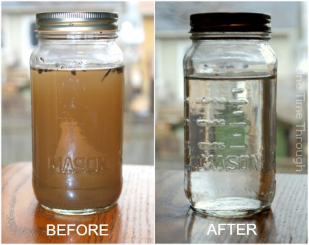 Before and After Water
