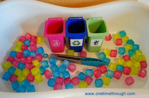 Earth Day Cube Bin