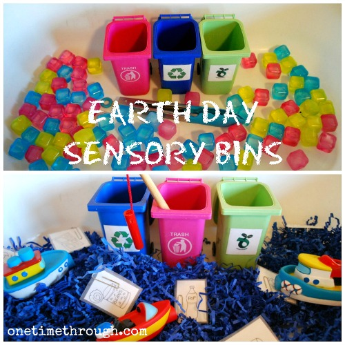 Earth Day Sensory Bins Blog