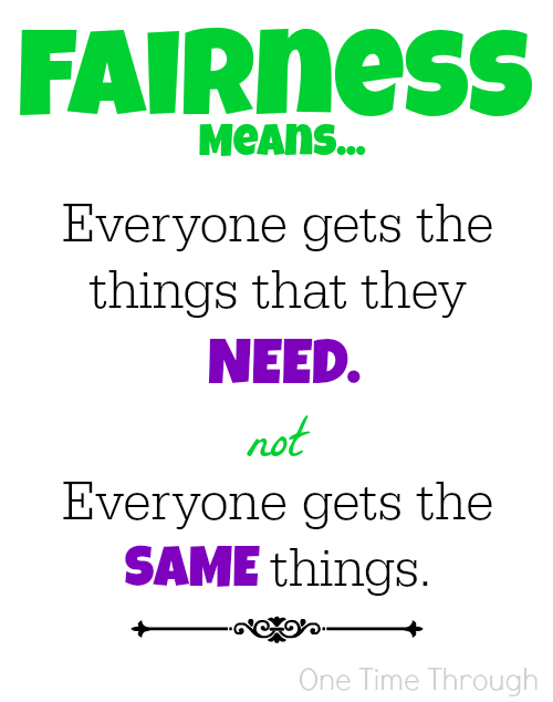 Fairness Means