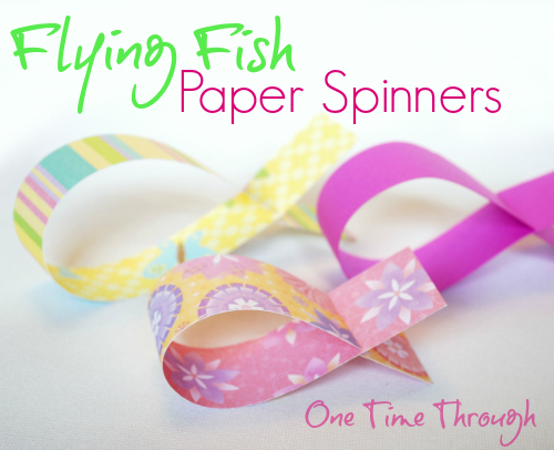 Flying Fish Paper Spinners