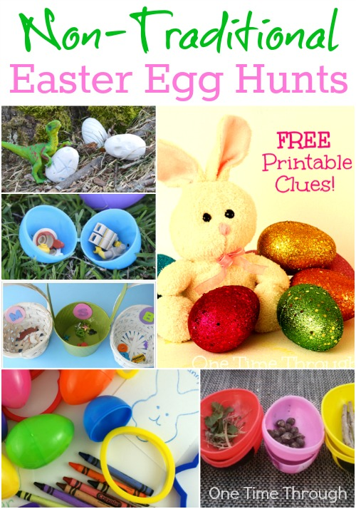 Non-Traditional Easter Egg Hunts for Kids