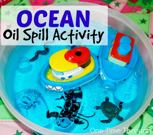 Protect Our Oceans Oil Spill Activity