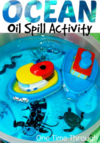 Ocean Oil Spill Activity